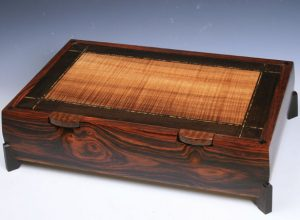 exotic wood jewelry box