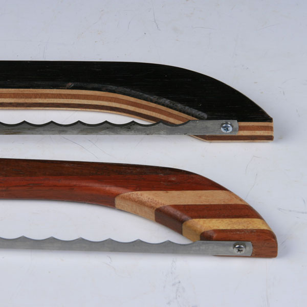 Bow Saw Bread Knife Laminated Wood Boxes By Boudreau