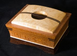 Handmade exotic wood box
