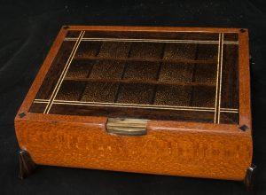 exotic wood jewelry box